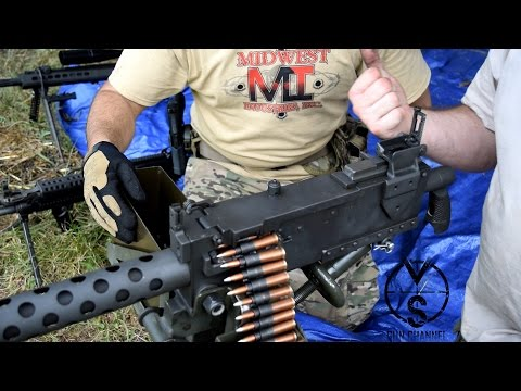 7.62X54R Browning M1919 Machine Gun (FULL AUTO)