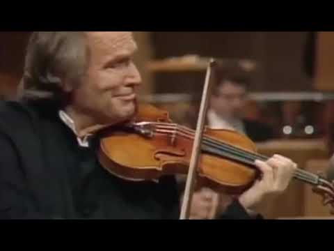 """Ivry Gitlis - Berg: Violin Concerto """"To the Memory of an Angel"""""""