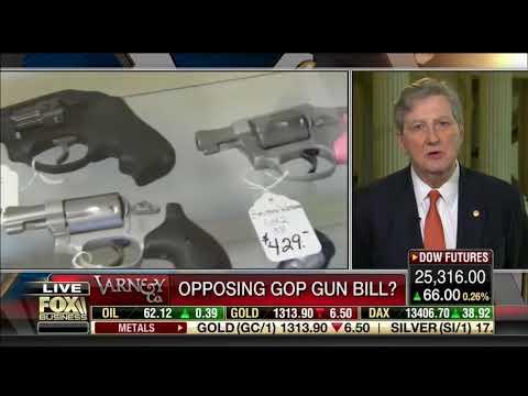 Sen. John Kennedy On Fox Business-Fix NICS Act