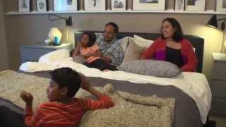 Bedroom Makeover Ideas For Family Movie Night - Ikea Home Tour (episode 106)