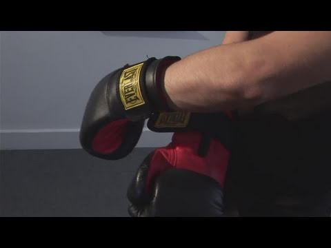 How To Wear Boxing Gloves