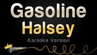 Halsey - gasoline (karaoke version)
