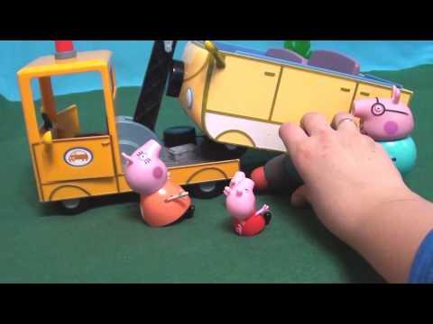 Мультфильм 🔴Peppa Pig🔴  Свинка Пеппа. Поломка машины