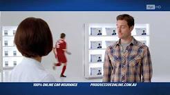 Progressive Car Insurance AU - Soccer Ad