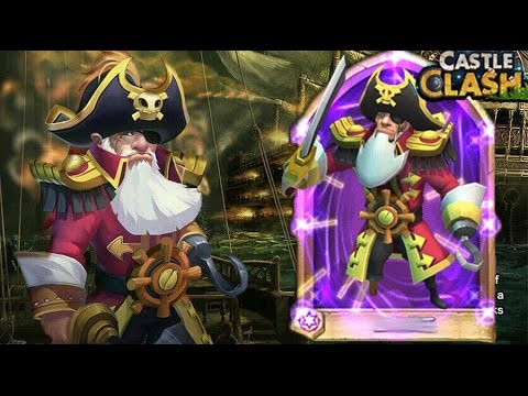 Castle Clash Pirate Captain/ Dread Drake