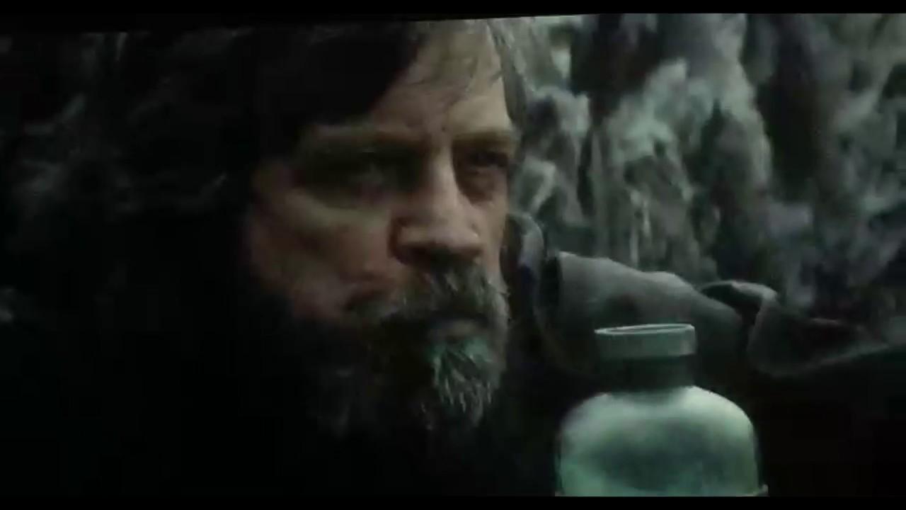 Luke Skywalker Drinks Green Alien Milk
