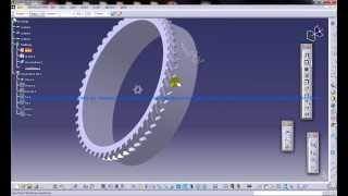 Catia V5 Tutorial|automotive Engineering Design|how Create A Tyre(easy Steps Beginners)|part 3