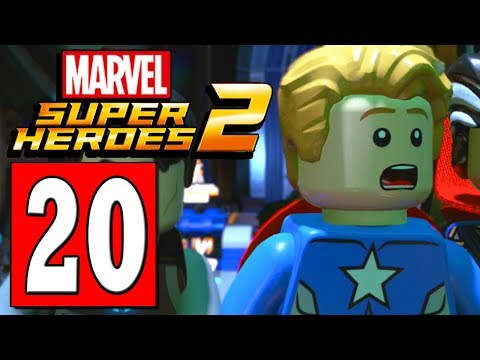 LEGO Marvels Super Heroes 2 Walkthrough Part 20 SCIENCE PROJECT PIECE MISSING / RESTORE THE POWER