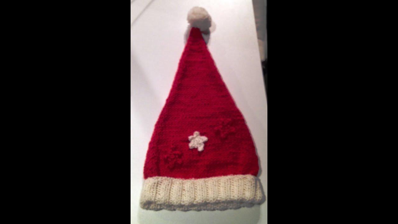 Addobbi amigurumi: cappello di Babbo Natale a uncinetto. | Natale ... | 720x1280