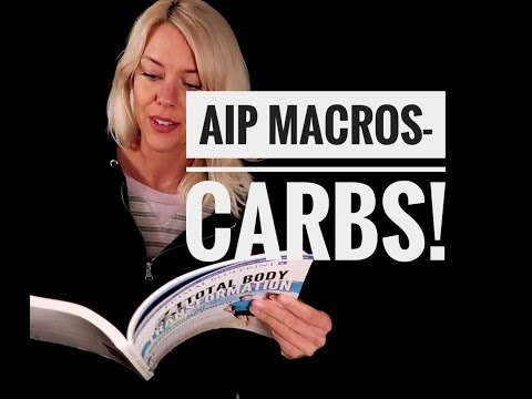 How many carbs I eat on AIP