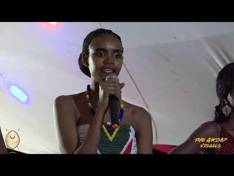 Crowning Miss African Heritage   Nontobeko Masuku