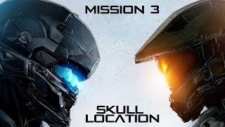 Halo 5 -Mission 3: Glassed - Skull Guide