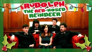 Rudolph the Red-Nosed Reindeer (A capella) | by Emma McGann & Barbershizzlé