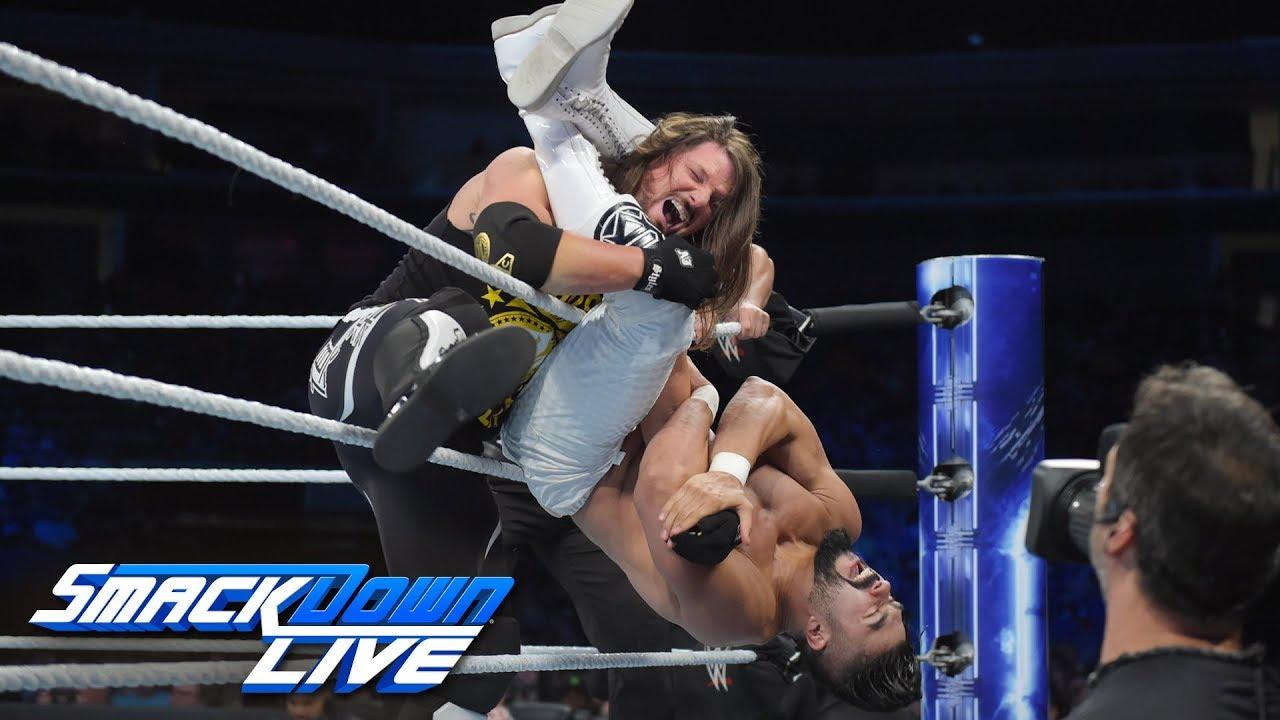 wwe-champion-aj-styles-vs-andrade-cien-almas-smackdown-live-sept-18-2018