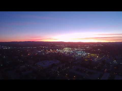 Sunset November 19 2017 San Fernando Valley Search for Niburu !