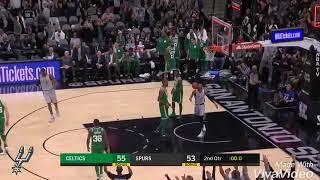 Manu Ginobili highlights | Celtics vs Spurs (December 8, 2017)