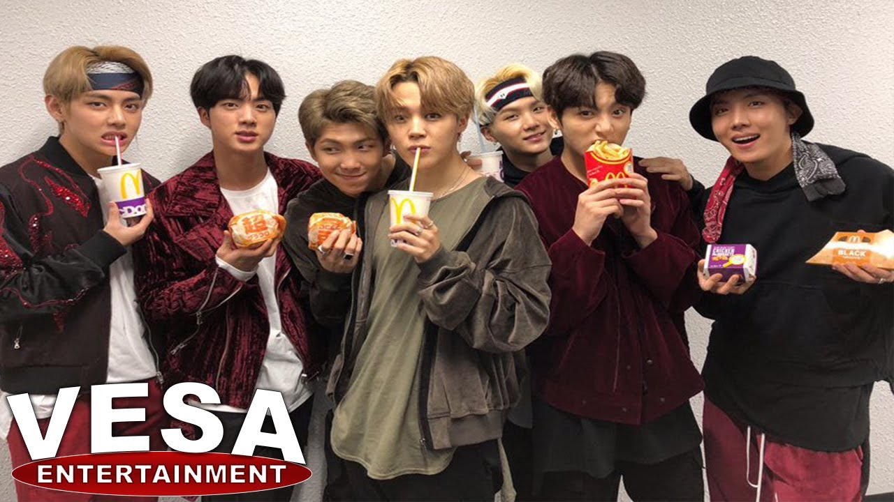 K-Pop Group BTS And McDonald's Launch Exclusive Meal And ...