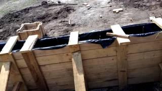 как сделать фундамент, ширина, глубина опалубки