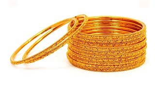 4 Gold Bangles in 5 Grams || Latest Collection of Gold Bangles || New Trends