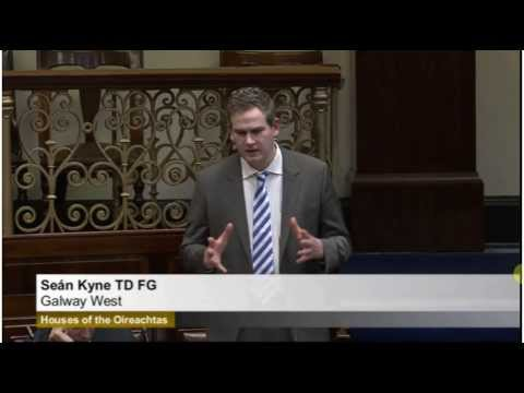 Sean Kyne TD speaking in Dáil Éireann on storm damage and the repair works required