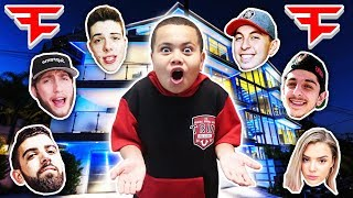 MY LITTLE BROTHER ASKS FAZE CLAN IF HE CAN JOIN FAZE!! AND THEY SAID THIS... KAYLEN MEETS FAZE CLAN
