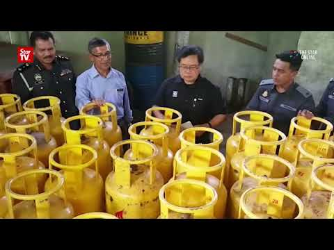 Couple and four foreign workers nabbed for illegal sale of subsidised LPG