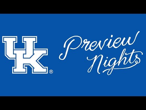 University of Kentucky 2015 Virtual Preview Night