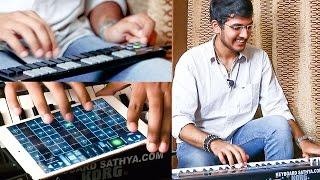 Goosebumps! Carnatic Music On Keyboard | Sathyanarayanan Unplu…