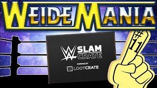 WWE SLAM CRATE #11 Larger than Life   WeideMania Unboxing (deutsch/german)