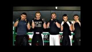 Минчо Хаджиев - тренировка по кик бокс
