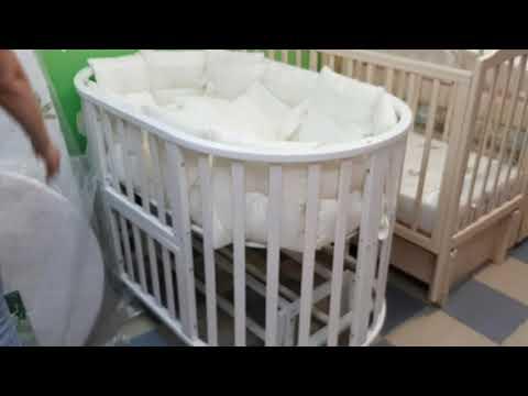 """Кроватка """"Северянка-3"""" трансформер 6в1 от Www.магазин-наш-малыш.рф"""