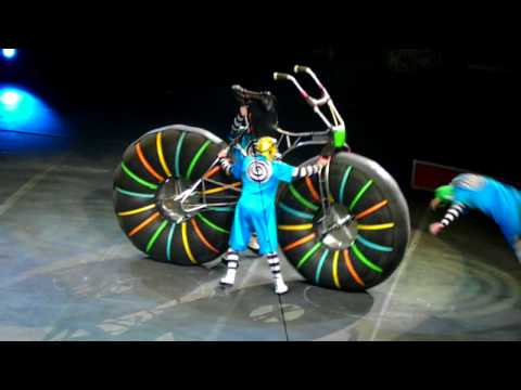Clowns with Giant Bicycle' Barnum and Bailey's Circus Raleigh NC