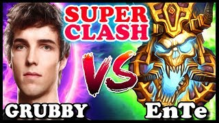 GRUBBY vs EnTe | SUPER CLASH | Warcraft 3