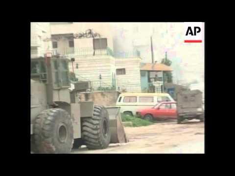 Israeli raid in Nablus continues