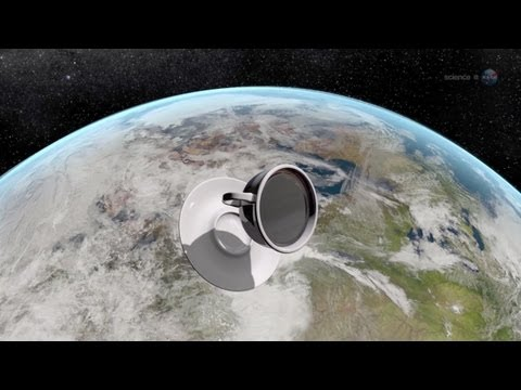 ScienceCasts: The Zero Gravity Coffee Cup