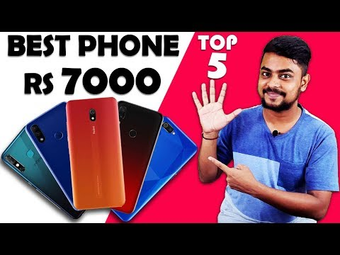 Best Smartphone Under 7000 October November 2019 India