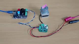 RS-485통신 스텝모터드라이버 SBD-14 와 아두이…