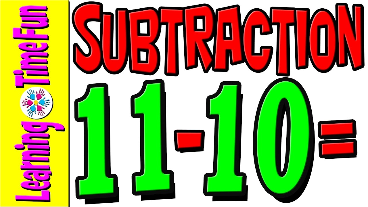 Subtract | Subtraction by 10 | Math for Kids | Math Help | Basic ...