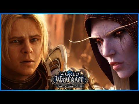 Alliance Final War Campaign 8.2.5 | Sylvanas Vs Saurfang & Calia Menethil