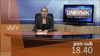 VTV Dnevnik najava 12. listopada 2018.