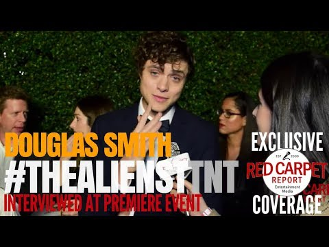 Douglas Smith ed at premiere of TNT's