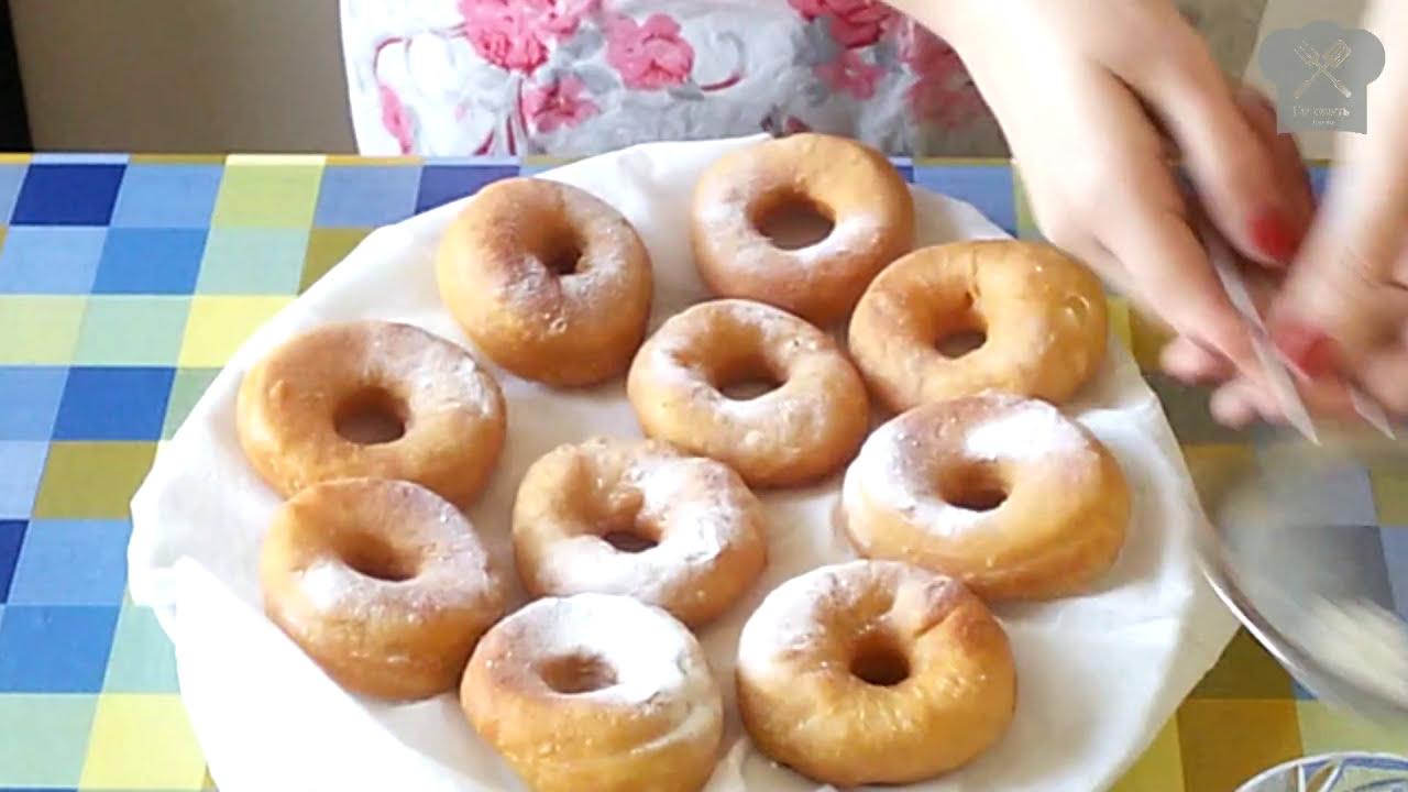 рецепт пончиков на кефире смотреть видео
