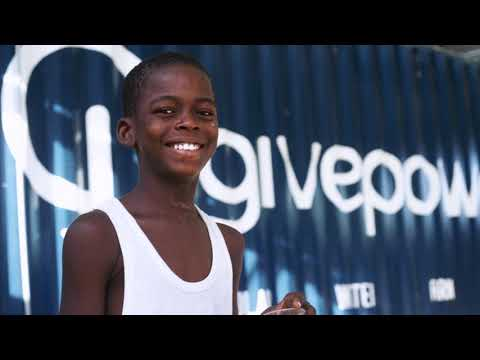 Solar Powered Water Station in Haiti | Give Power & Kuby Energy