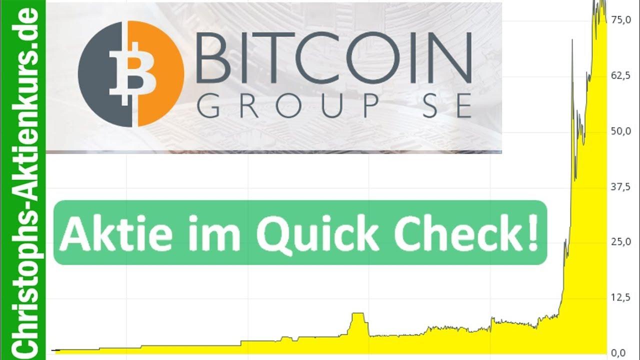 Bitcoin Se Aktie