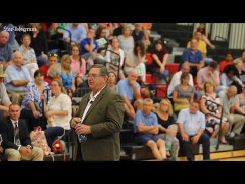 U.S. Rep Michael Burgess holds town hall meeting