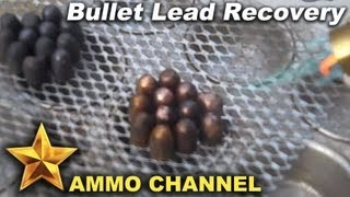 Melting jacketed bullets for casting and reloading ammo - bullet casting, range lead, smelting