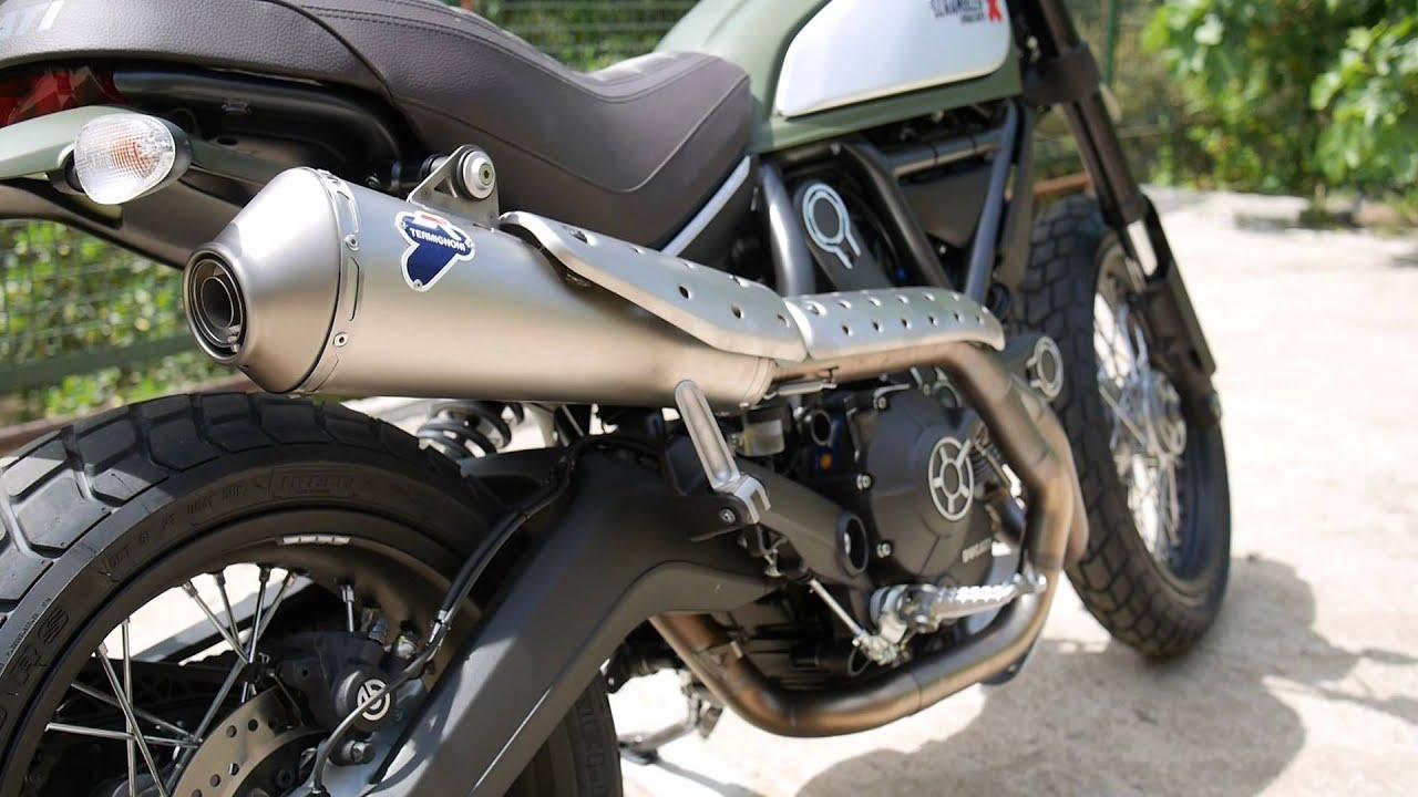Ducati Scrambler Termignoni Race Line Steel Exhaust System