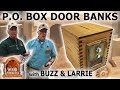 Post Office Door Banks by Buzz and Larrie
