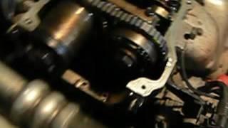 Заміна ланцюга грм Nissan Wingroad (коротко кілька моментів)