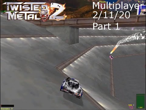 Twisted Metal 2 Multiplayer - 2/11/20